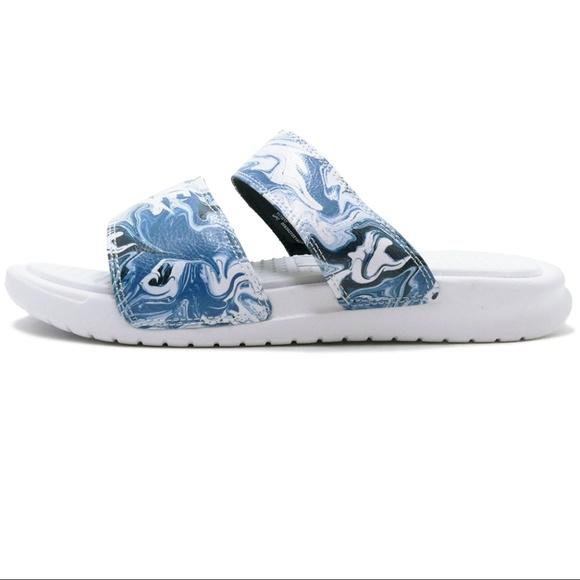 ff2bb5384eda Sz 7 Nike Benassi Duo Ultra Slide Comfort Sandals